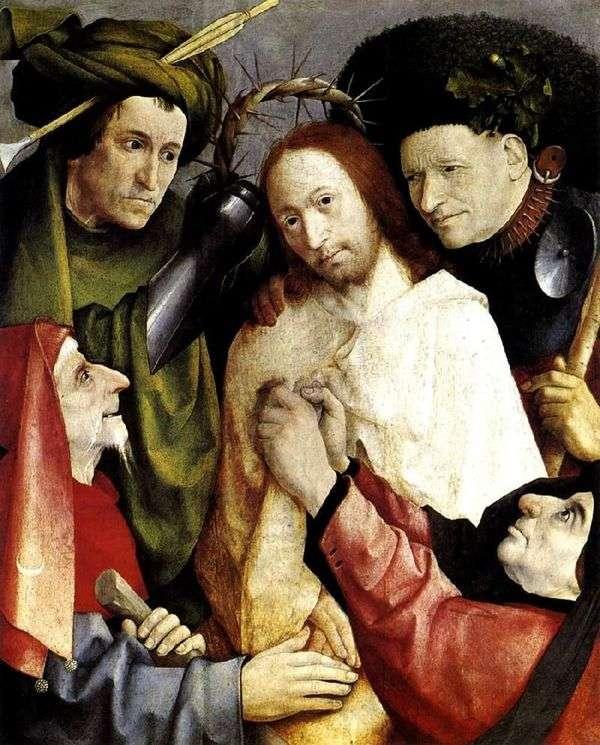 与荆棘冠冕   Hieronymus Bosch