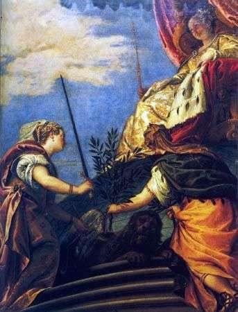 威尼斯   拥有正义与和平人物的主权   保罗维罗纳