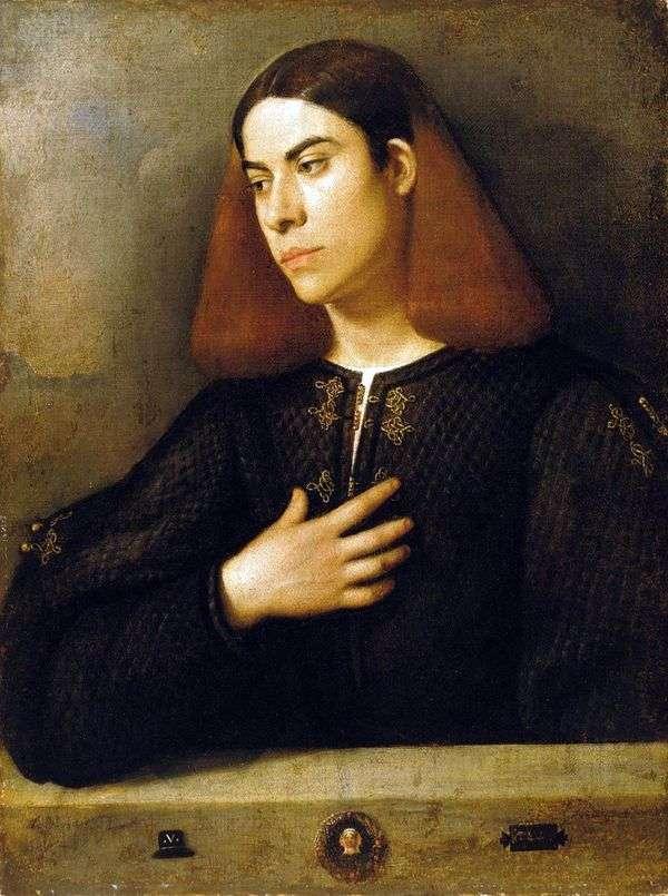 Antonio Broccardo   Giorgione的肖像