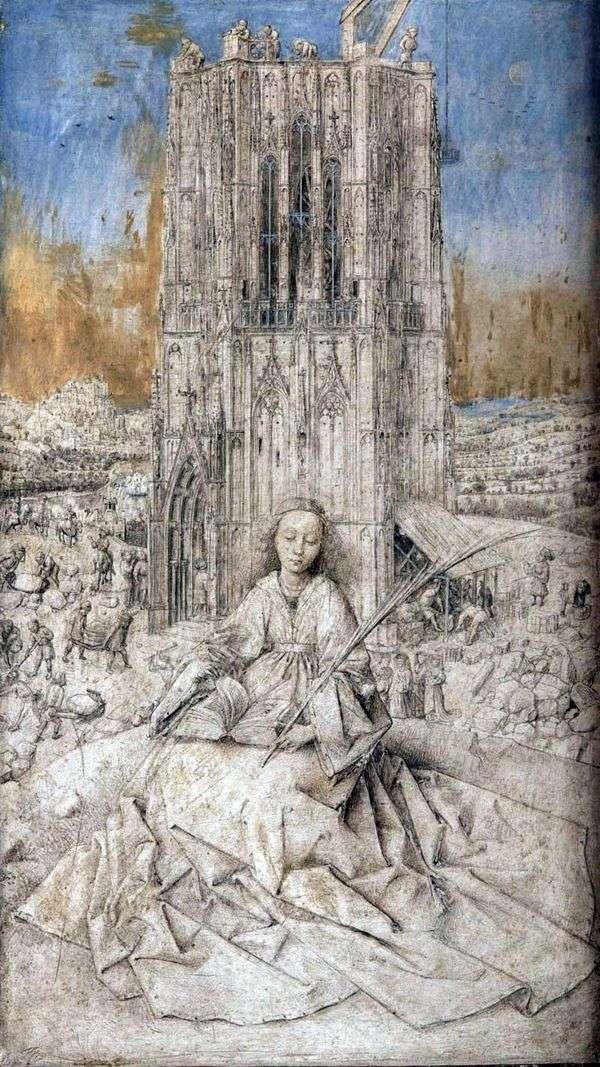 CB。Varvara   Jan van Eyck