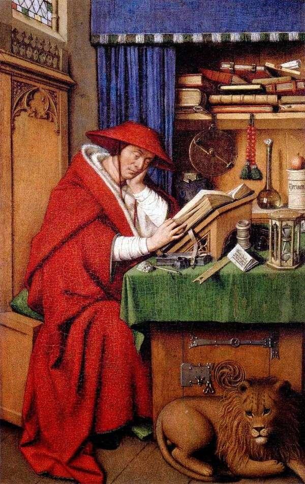 圣杰罗姆   Jan van Eyck