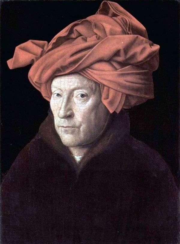 自画像   Jan van Eyck