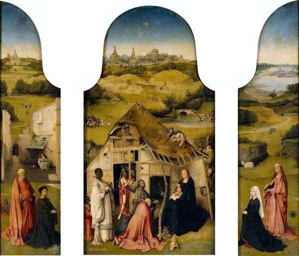 崇拜魔法师   Hieronymus Bosch