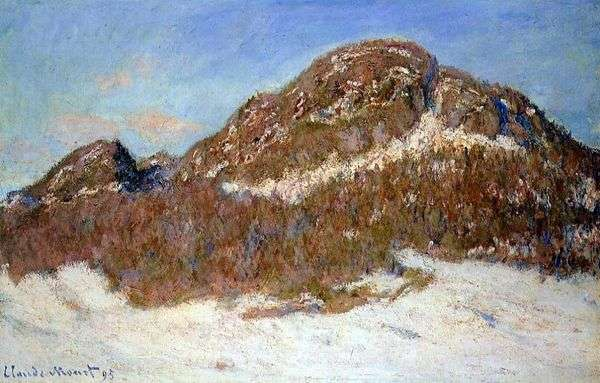 Colesa Mountain   Claude Monet