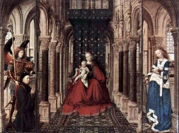 圣母玛利亚的祭坛   Jan van Eyck