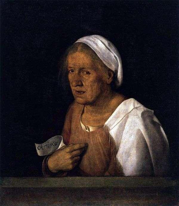 老妇人   乔尔乔内