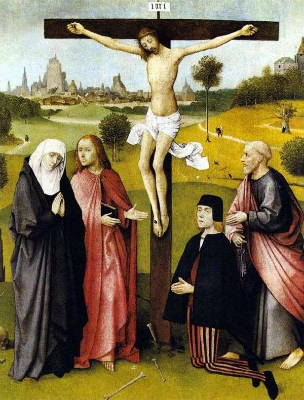 基督被钉十字架   杰罗姆博世