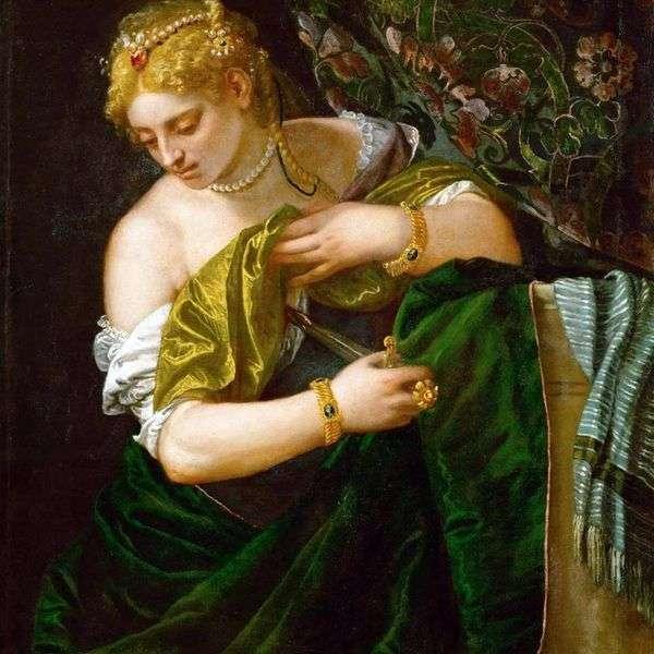 Lucretia   Paolo Veronese