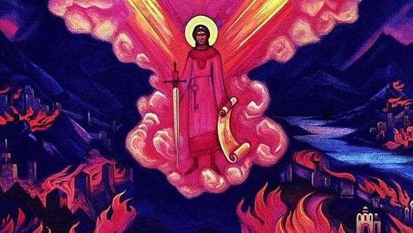 天使最后   尼古拉斯罗瑞奇