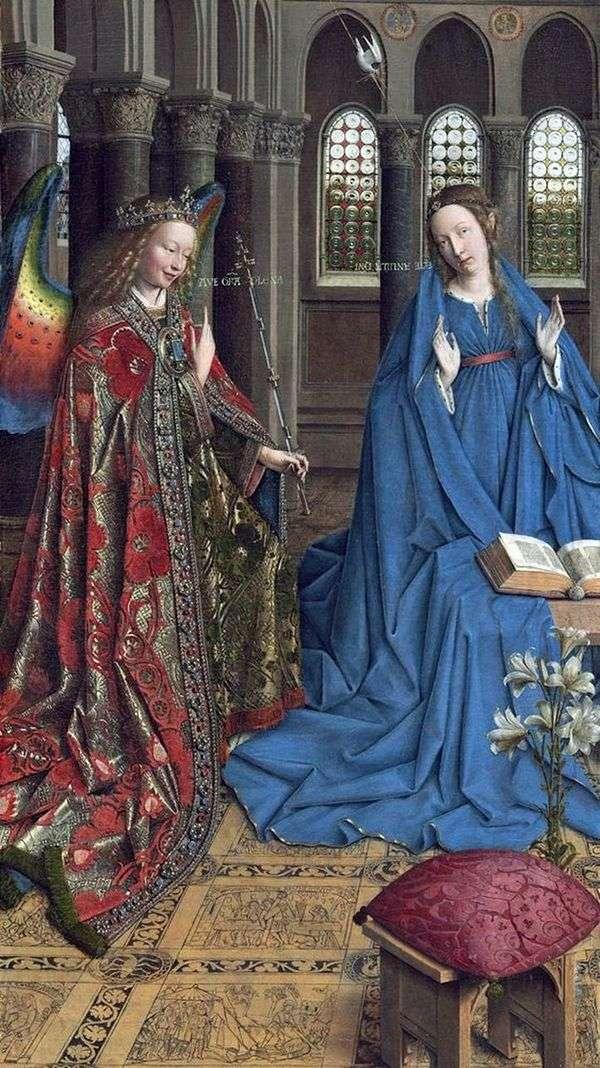报喜   Jan van Eyck