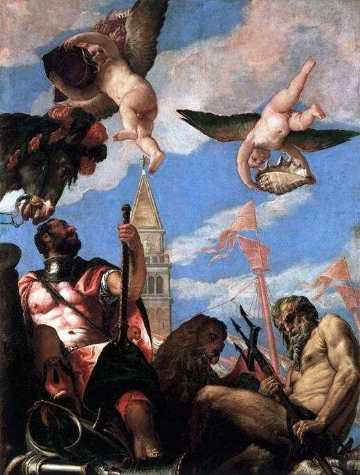 火星和海王星   Paolo Veronese