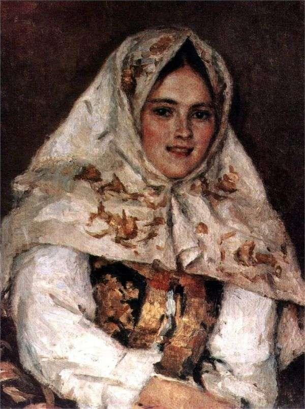 西伯利亚美女   瓦西里苏里科夫