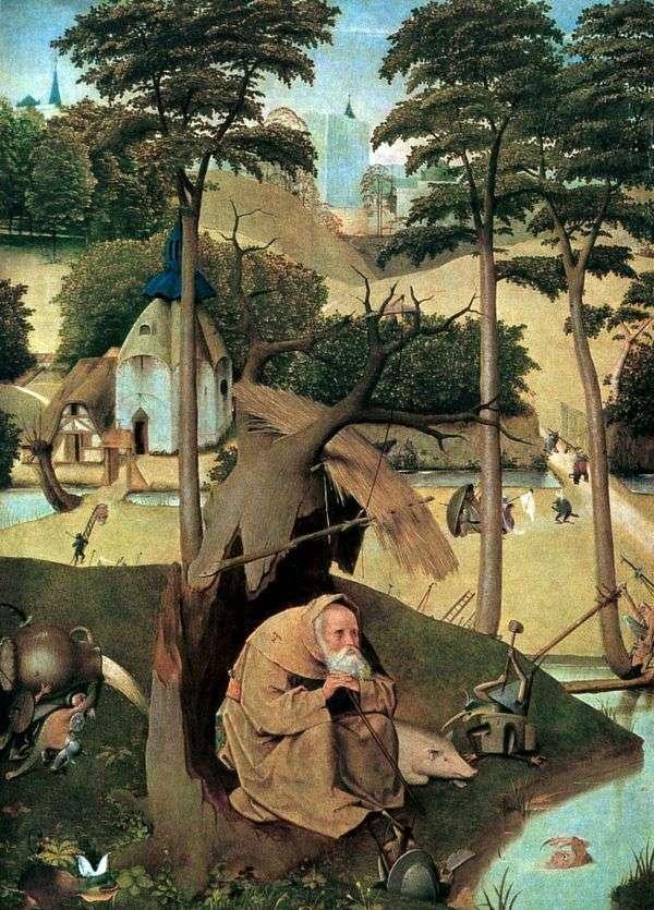 圣安东尼   Hieronymus Bosch