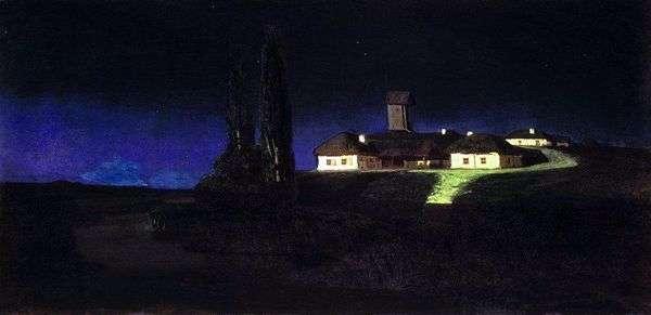 乌克兰之夜   Arkhip Kuindzhi