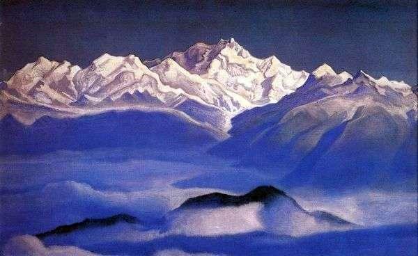 喜马拉雅山(蓝山)   尼古拉斯罗里奇
