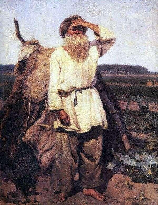 老园丁   瓦西里苏里科夫