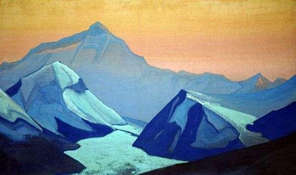 喜马拉雅山珠穆朗玛峰   尼古拉斯罗里奇