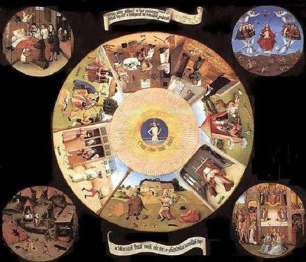 七个致命的罪和四个最后的事   Hieronymus Bosch