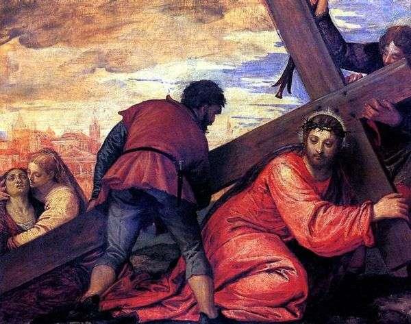 携带十字架   Paolo Veronese