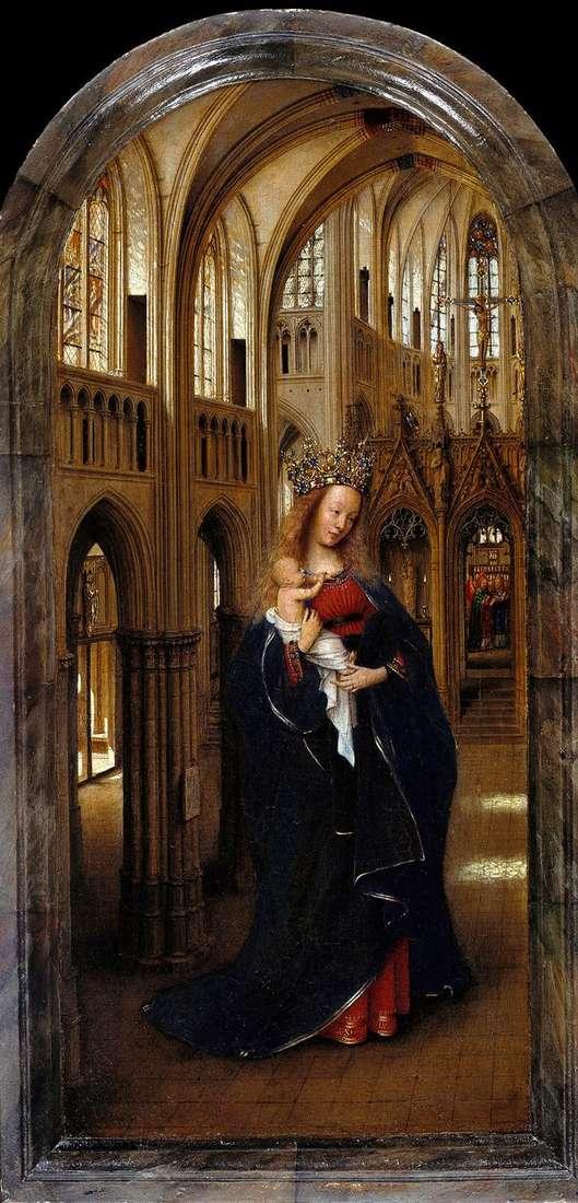 麦当娜在教堂   Jan van Eyck