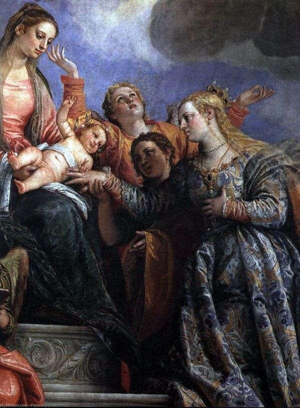 圣凯瑟琳的订婚   保罗维罗内塞