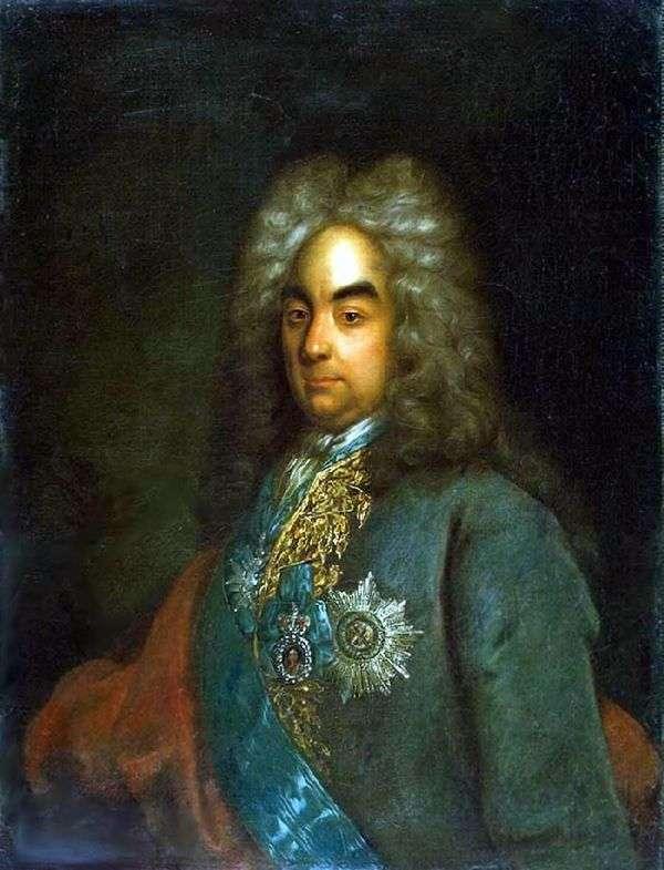 彼得Andreevich托尔斯泰伯爵的肖像   约翰戈特弗里德Tannauer