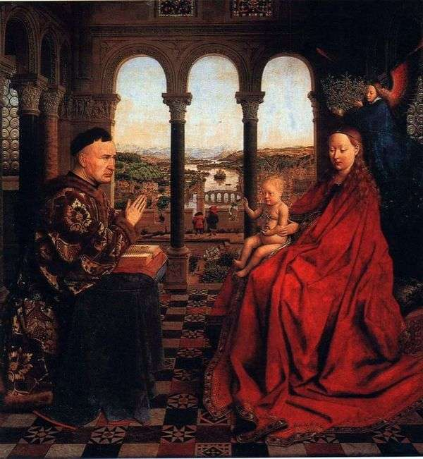 麦当娜校长Rohlen   Jan van Eyck