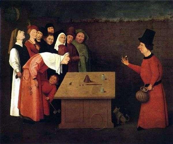 魔术师嘎嘎   Hieronymus Bosch