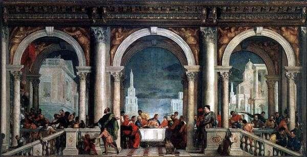 Levi房子里的盛宴   Paolo Veronese