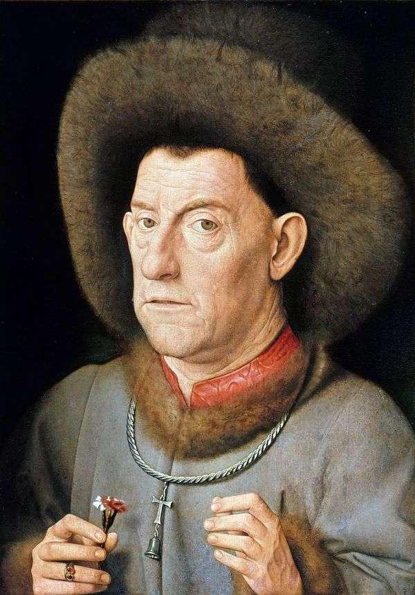 丁香的男人   Jan van Eyck