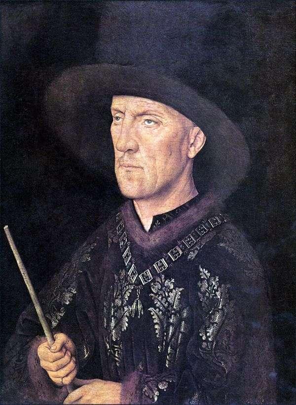 Baudouin de Lanoy的肖像   Jan van Eyck