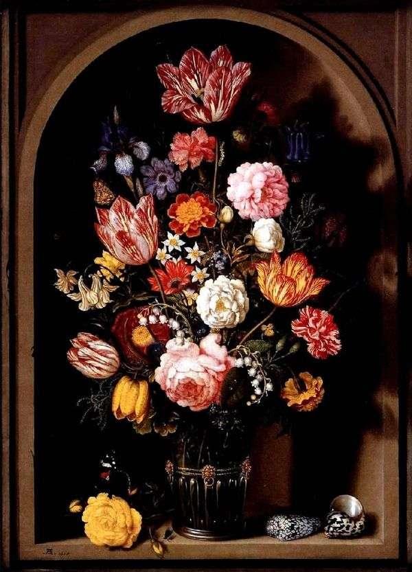 花束在花瓶的   Ambrosius Boshart