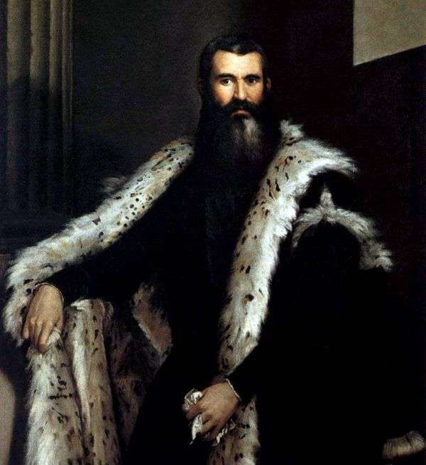 Daniele Barbaro的肖像   Paolo Veronese