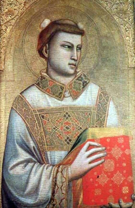 圣斯蒂芬   乔托的形象