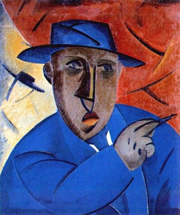 艺术家的肖像   弗拉基米尔塔特林