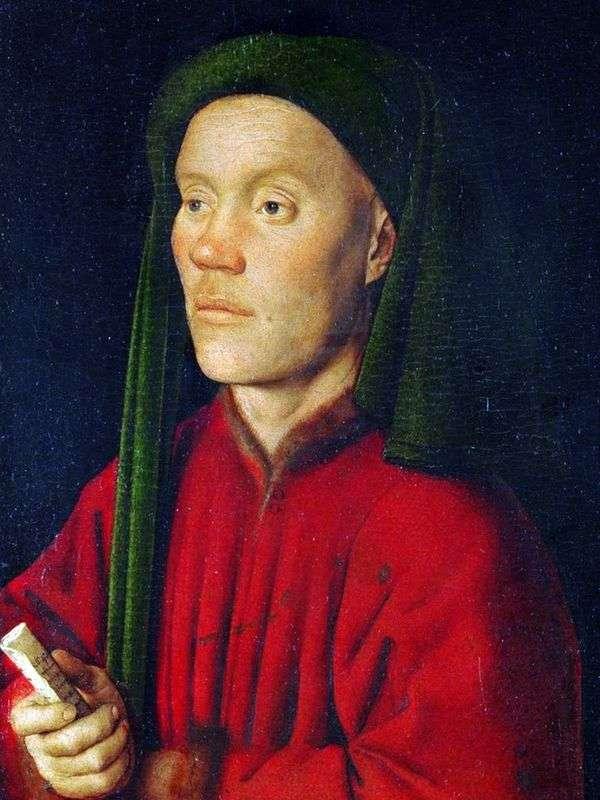一个年轻人的肖像(Timofey)   Jan van Eyck