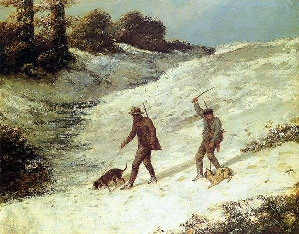 狩猎场景   Jean Desire Gustave Courbet