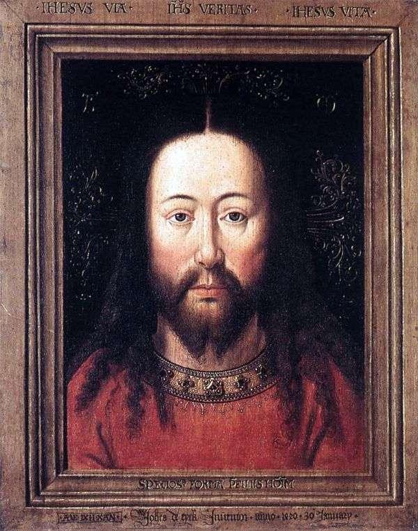 基督的肖像   Jan van Eyck