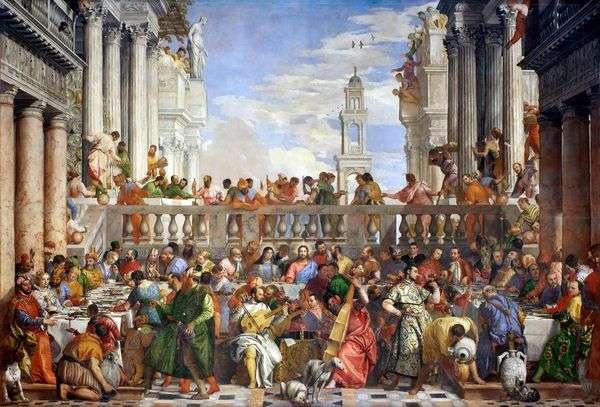 在Cana举行婚礼   Paolo Veronese