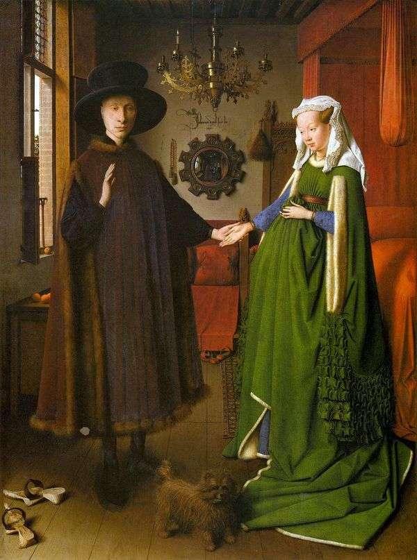 Arnolfini夫妇的肖像   Jan van Eyck