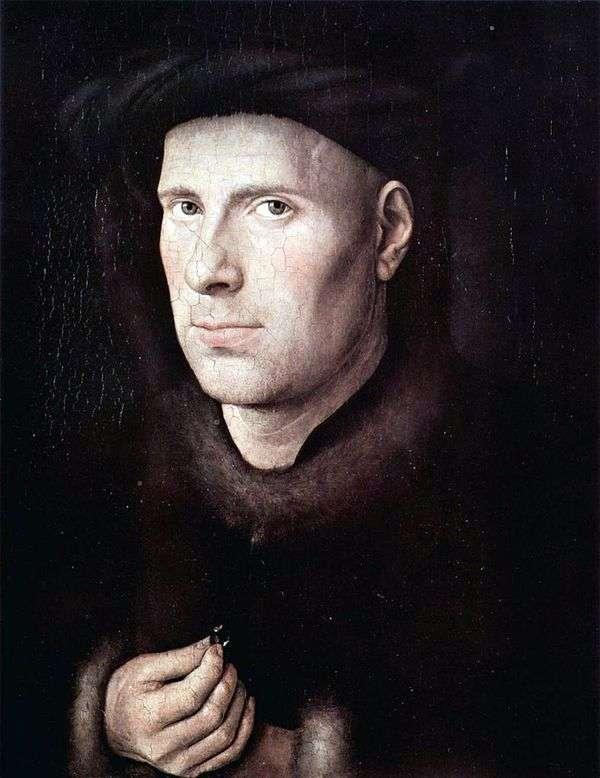 Jan de Leeuw的肖像   Jan van Eyck