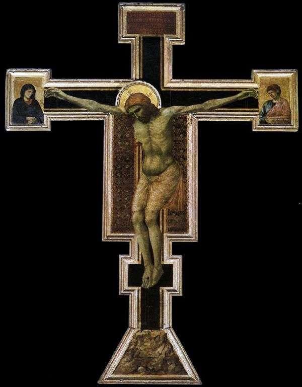 被钉十字架   乔托