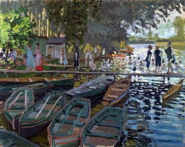 沐浴在Frogdog   Claude Monet