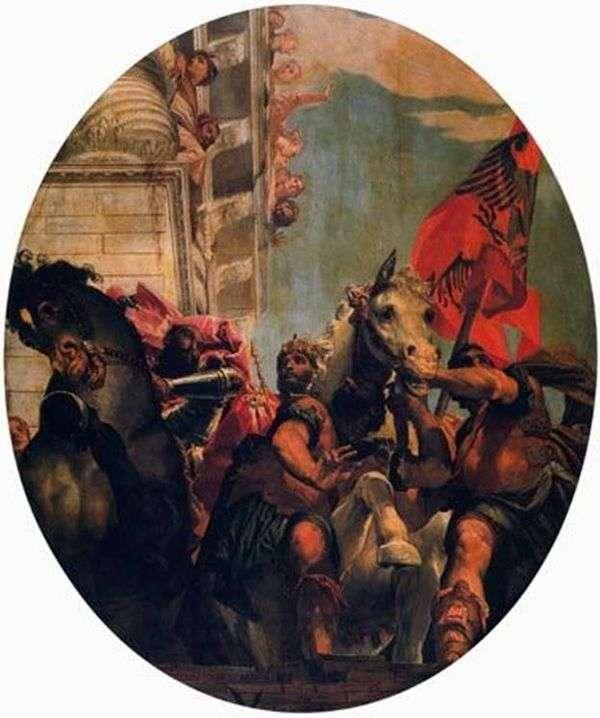 Mordecai的胜利   Paolo Veronese