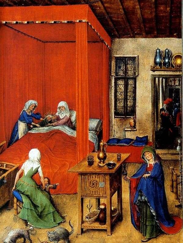 施洗约翰的诞生   Jan van Eyck