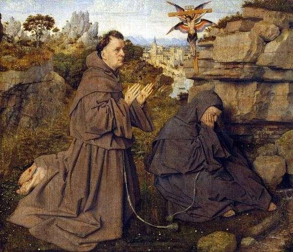 圣弗朗西斯的耻辱化   Jan van Eyck