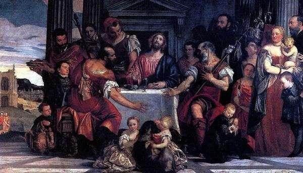 在Emmaus享用晚餐   Paolo Veronese