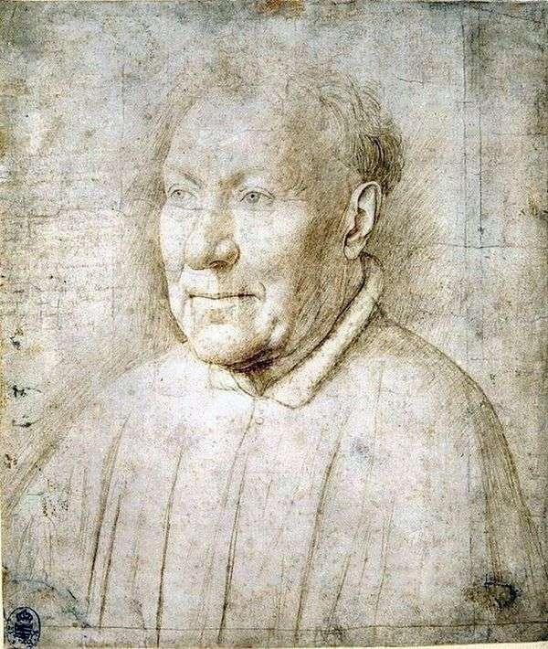 研究男性肖像   Jan van Eyck