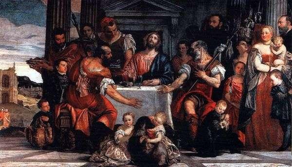 基督在Emmaus   Paolo Veronese