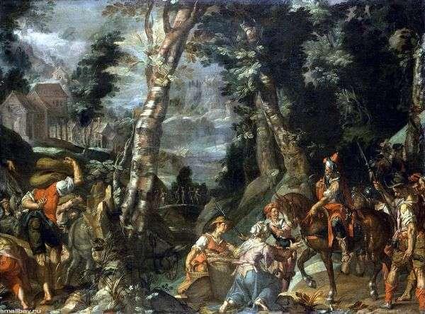 大卫和阿比盖尔的会面   约阿希姆 艾特瓦尔